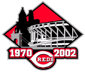 The logo the Reds used in 2002 for their final...