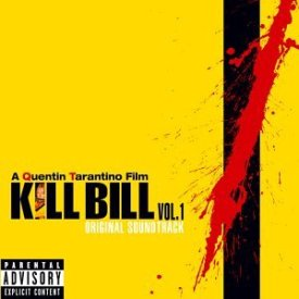 Cover art for the movie soundtrack to Kill Bill, by RZA and Quentin Tarantino
