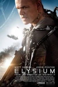 Poster for 2013 sci-fi film Elysium