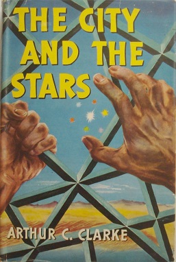 Book cover for The City and the Stars by Arthu...
