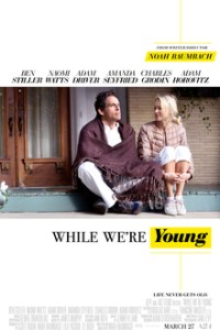 Poster for 2015 dramedy While We're Young
