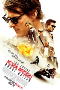 Poster for 2015 action sequel Mission: Impossible — Rogue Nation