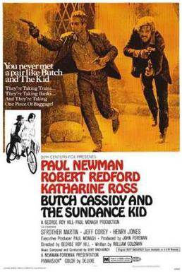 Film poster for Butch Cassidy and the Sundance...