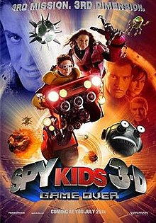 spy kids 3d- sci-fi movies about videogames