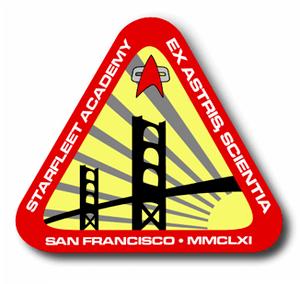 The official logo of Starfleet Academy, circa ...