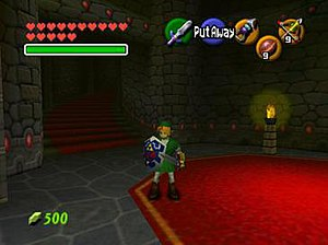 Ocarina of Time, the first 3D-styled game of t...
