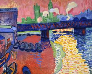 André Derain, Charing Cross Bridge, London (19...