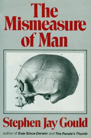 First edition (1981) of The Mismeasure of Man
