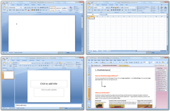 The Microsoft Office Core Applications