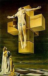 Crucifixion (Corpus Hypercubus) (1954)