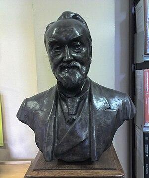 Bust of John Hughlings Jackson, resident in th...