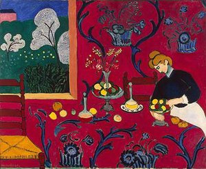 The Dessert: Harmony in Red, 1908, Hermitage M...