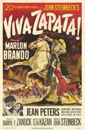 Viva Zapata!, film poster