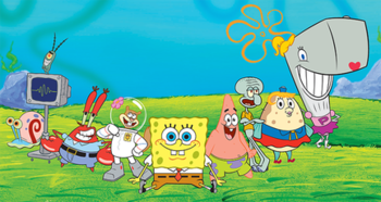 list of spongebob squarepants