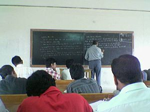 Students of SASTRA in their classroom