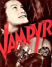 Poster depicting Léone's staring up with an eager smile. In the bottom right corner, the Lord of the Manor holds a Candelabra while having a shocked expression. Text in the middle of the image includes the film's title written diagonally in red.