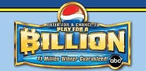 Pepsi Billion Dollar Sweepstakes logo