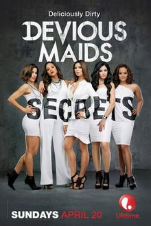 Poster, Devious Maids (season 2), 2014.jpg