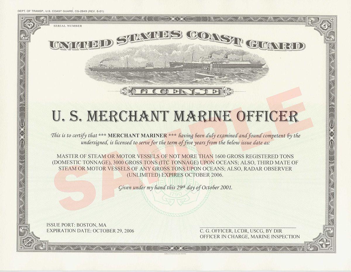 Licensed Mariner Wikipedia