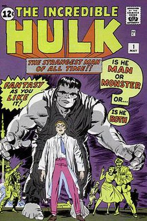 The Incredible Hulk #1 (May 1962). Cover art b...