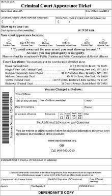 New York City Criminal Court  Wikipedia