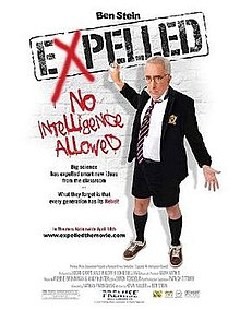 """Cover of """"Expelled - No Intelligence Allowed"""""""