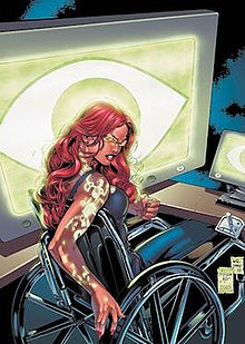wheelchair fight wingback chairs canada barbara gordon - wikipedia