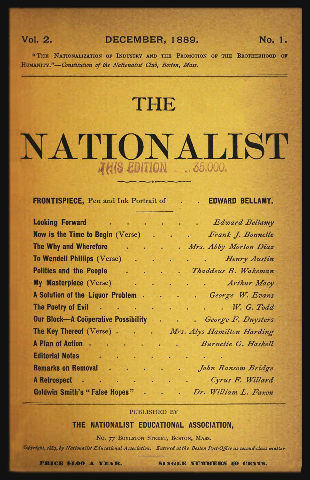 The Nationalist United States  Wikipedia