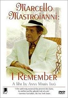Marcello Mastroianni I Remember Wikipedia