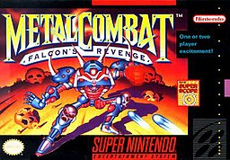 Front cover of Metal Combat: Falcon's Revenge package.