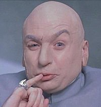 Dr. Evil thinking about 10 million lines of code per second