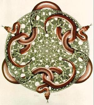 Snakes (M. C. Escher)