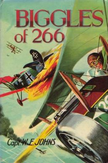 """Cover of """"Biggles of 266"""""""