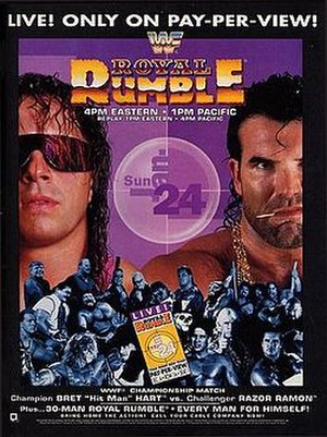 A poster or logo for Royal Rumble (1993).