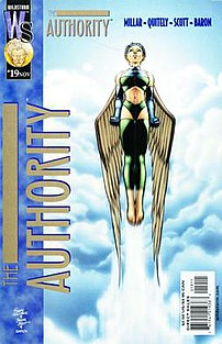 Cover to #19. Art by Frank Quitely  Cover feat...
