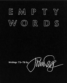 empty words wikipedia