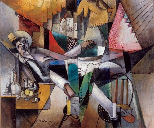 File Albert Gleizes 1913 L'homme Au Hamac Oil Canvas
