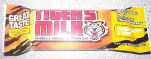 A Tiger's Milk bar.