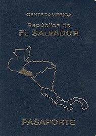 Salvadoran passport  Wikipedia
