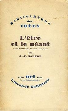 L'être Et Le Néant Sartre : l'être, néant, sartre, Being, Nothingness, Wikipedia