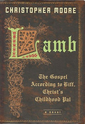 The front cover of Lamb: The Gospel According ...