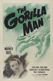 The Gorilla Man  Wikipedia