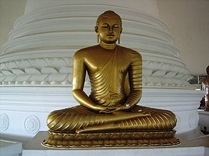 Lord Buddha in Sri Lanka - Kalutara