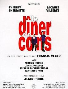 Film Le Diner De Con : diner, Dîner, (film), Wikipedia