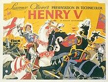 Henry V – 1944 UK film poster.jpg