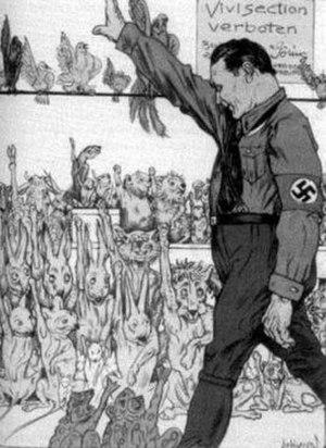This cartoon appeared in Kladderadatsch, a Ger...