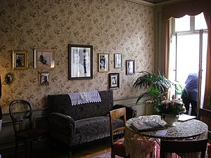 Einstein's living room in Berne, Einsteinhaus,...