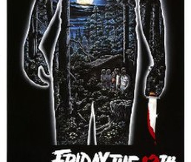 Friday The 13th 1980 Theatrical Poster Jpg