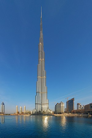 Burj Khalifa in the United Arab Emirates, is c...