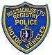 Massachusetts State Registry of Motor Vehicles...